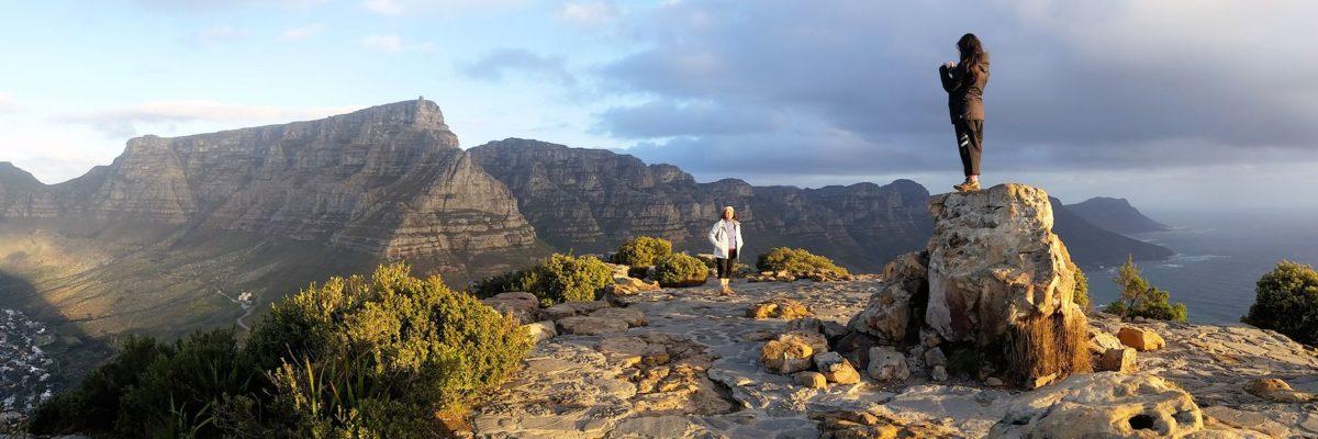 Marche de Lions Head au Cap en Afrique du Sud