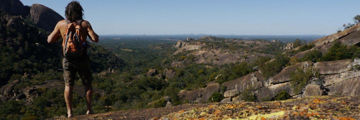 Randonnée dans les Matopos Hills au Zimbabwe