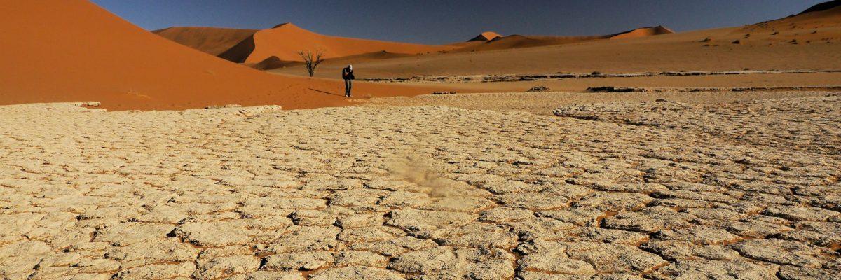 Randonnée dans le Namib en Namibie