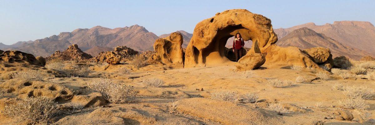 Randonnée dans le Damaraland  en Namibie