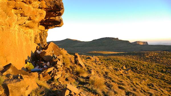 Verandah cave - Drakensberg
