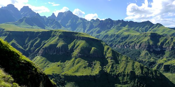 montagnes du drakensberg - voyage en Afrique du Sud