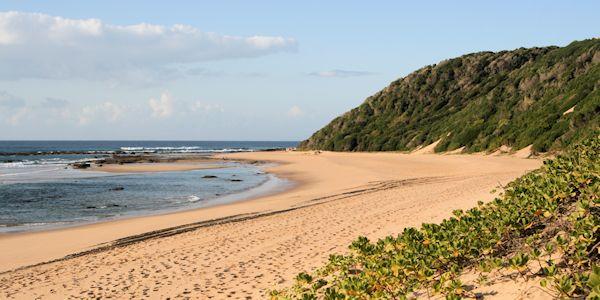 plage sur l'ocean indien - voyage au Mozambique