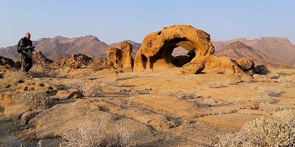 paysage du damaraland - voyage en Namibie